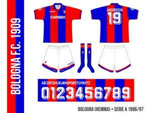 Bologna 1996/97 (hemma)