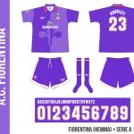 Fiorentina 1996/97 (hemma)