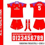 Fiorentina 1996/97 (tredjeställ)