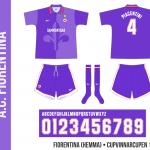 Fiorentina 1996/97 (hemma, Cupvinnarcupen)