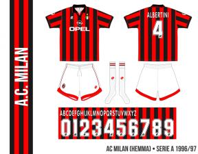 AC Milan 1996/97 (hemma)