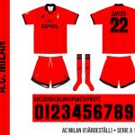 AC Milan 1996/97 (fjärdeställ)