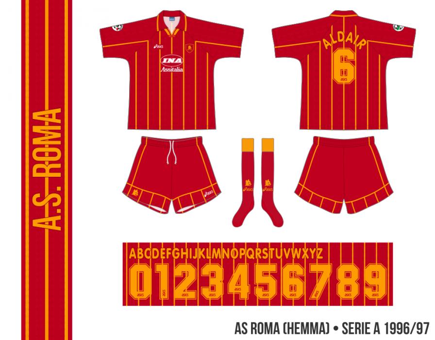 AS Roma 1996/97 (hemma)