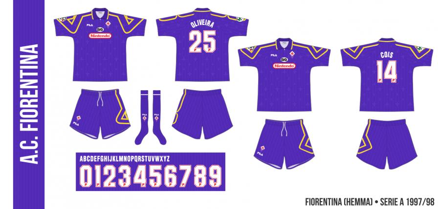 Fiorentina 1997/98 (hemma)