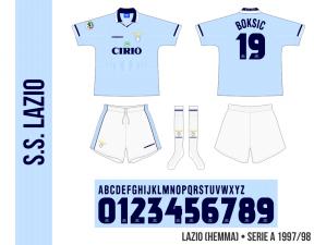Lazio 1997/98 (hemma)