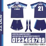 Lazio 1997/98 (tredjeställ)