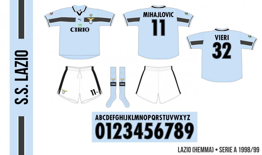Lazio 1998/99 (hemma)