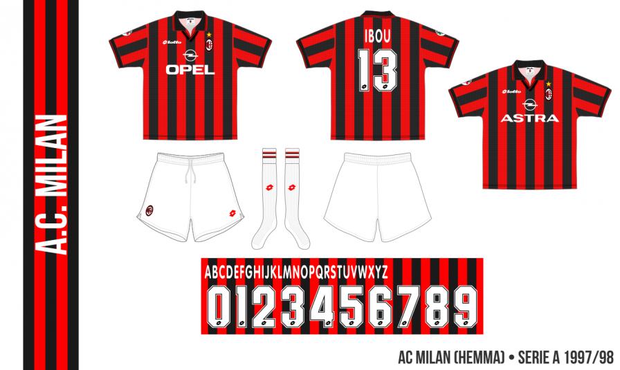 Milan 1997/98 (hemma)