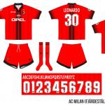 Milan 1997/98 (fjärdeställ)