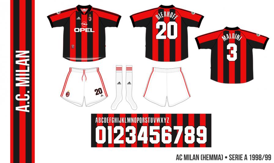 AC Milan 1998/99 (hemma)