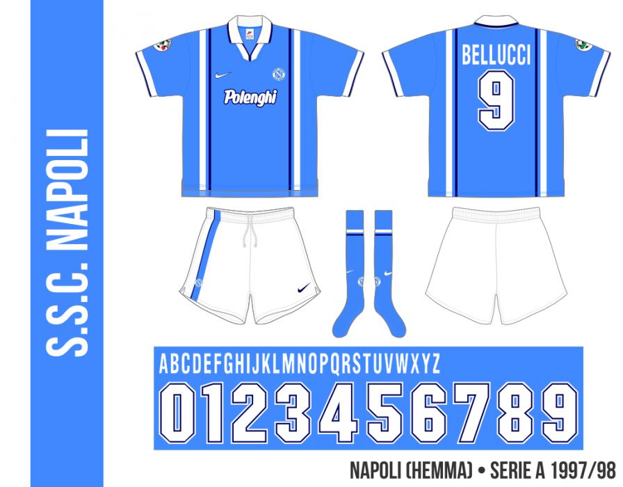 Napoli 1997/98 (hemma)