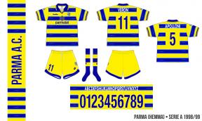 Parma 1998/99 (hemma)