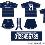 Parma 1998/99 (UEFA-cupen, borta)