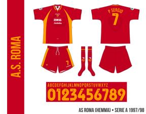 AS Roma 1997/98 (hemma)