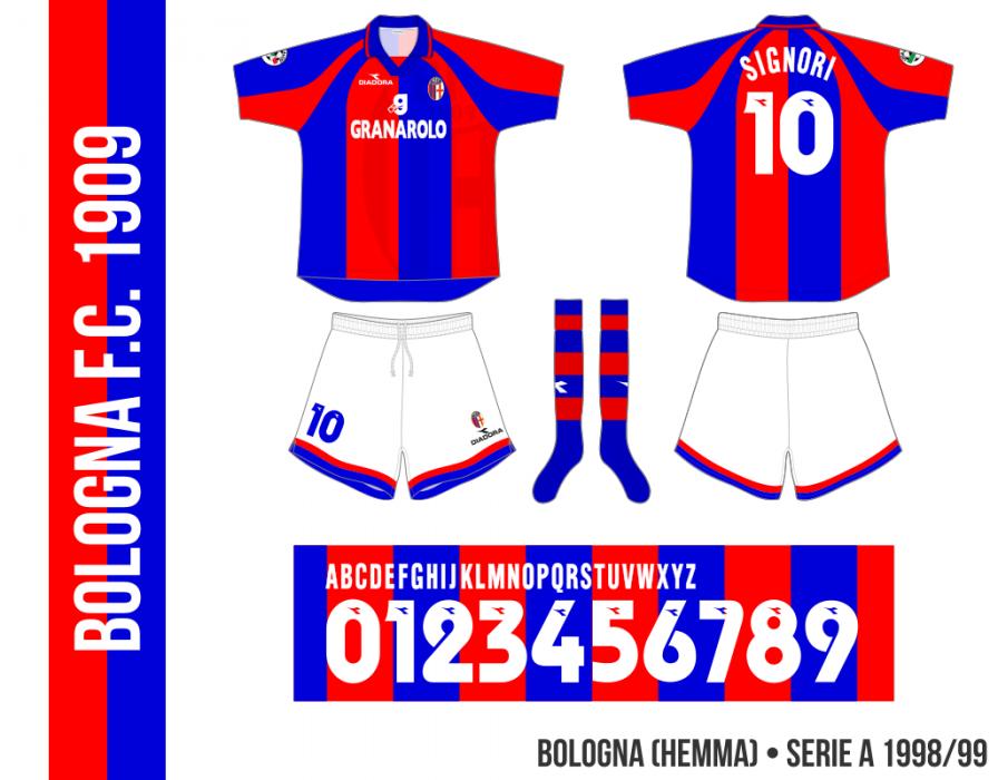 Bologna 1998/99 (hemma)