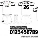 Juventus 1998/99 (Champions League, borta)
