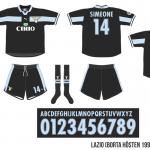 Lazio 1999/00 (borta, hösten 1999)