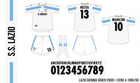 Lazio 1999/00 (hemma, våren 2000)