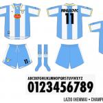 Lazio 1999/00 (hemma, Champions League)