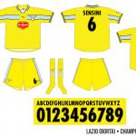 Lazio 1999/00 (borta, Champions League)