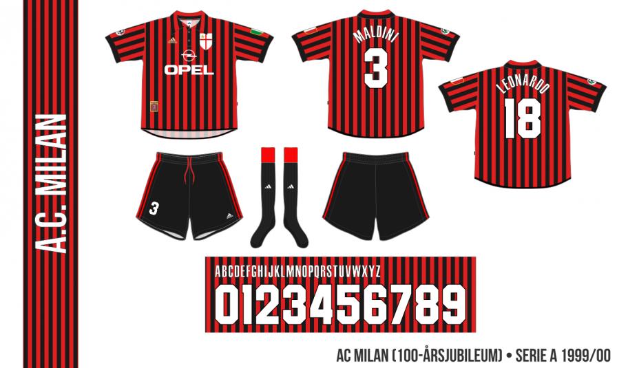 AC Milan 1999/00 (100-årsjubileum)