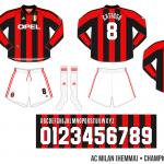 AC Milan 1999/00 (Champions League, hemma)