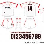 AC Milan 1999/00 (Champions League, borta)