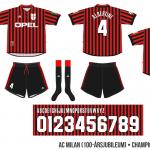 AC Milan 1999/00 (Champions League, 100-årsjubileum)