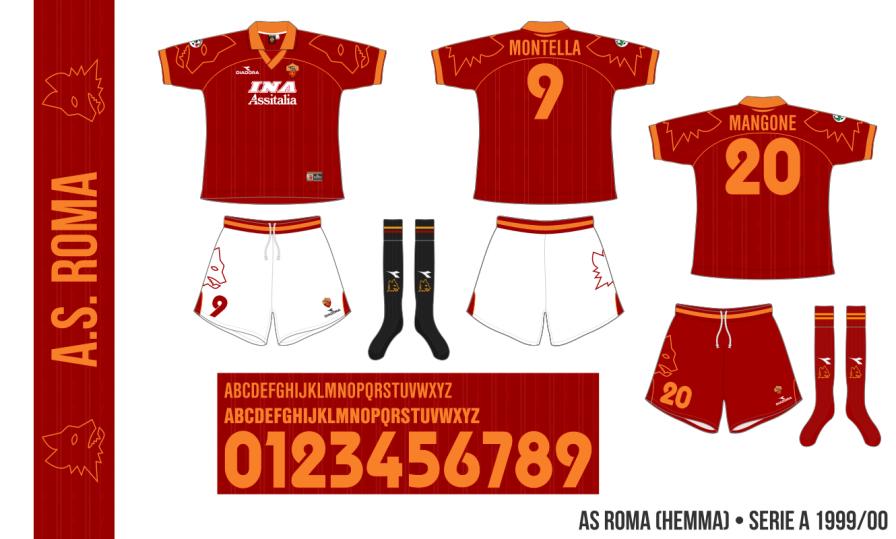 AS Roma 1999/00 (hemma)