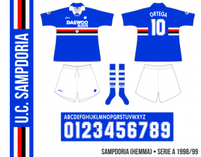 Sampdoria 1998/99 (hemma)