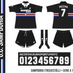 Sampdoria 1998/99 (tredjeställ)