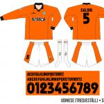 Udinese 1998/99 (tredjeställ)
