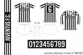 Juventus 1987/88 (hemma)