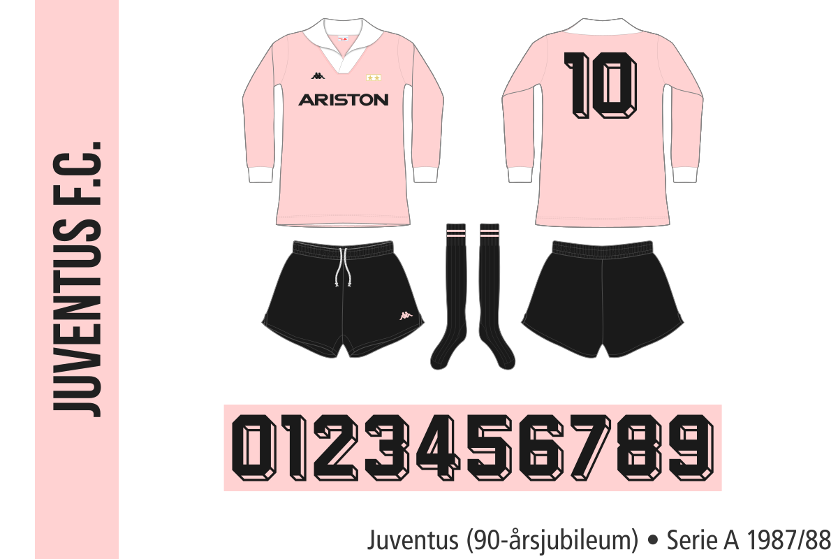 Juventus 1987/88 (90-årsjubileum)