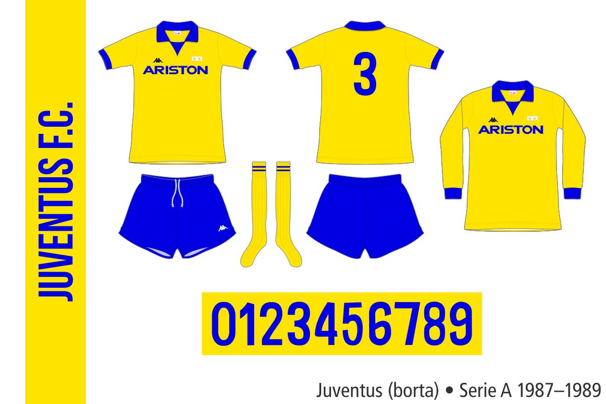 Juventus 1987–1989 (borta)