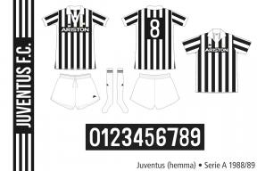 Juventus 1988/89 (hemma)