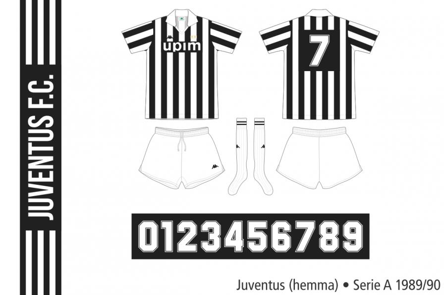 Juventus 1989/90 (hemma)