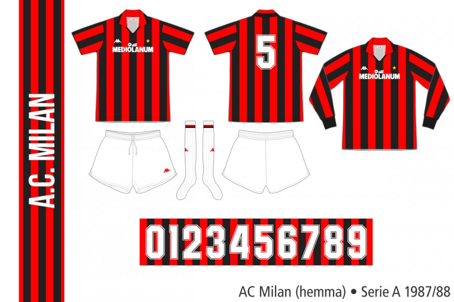 AC Milan 1987/88 (hemma)