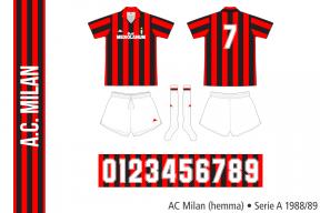 AC Milan 1988/89 (hemma)