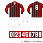 AC Milan 1989/90 (Interkontinentalcupen)