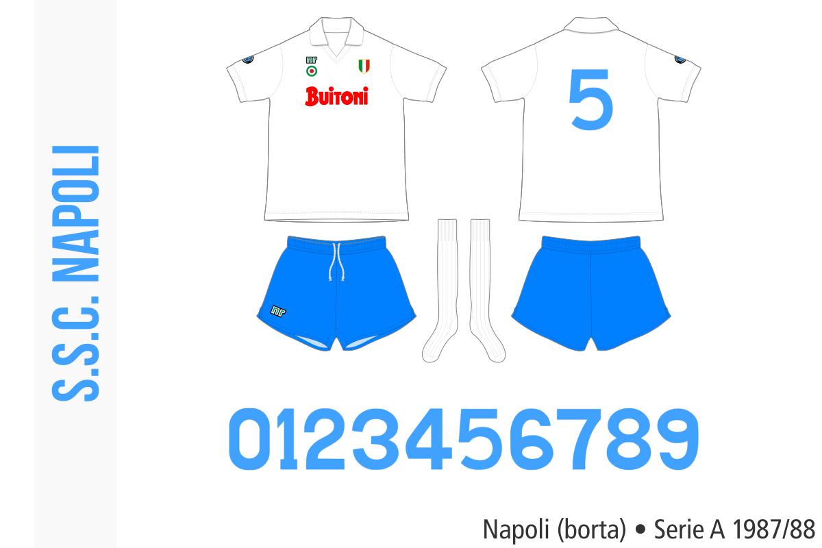 Napoli 1987/88 (borta)
