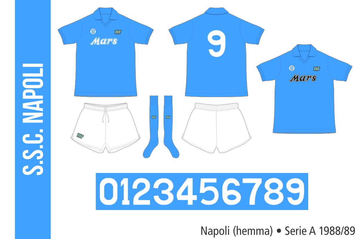 Napoli 1988/89 (hemma)