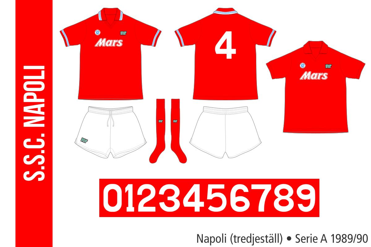 Napoli 1989/90 (tredjeställ)
