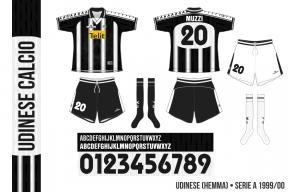 Udinese 1999/00 (hemma)
