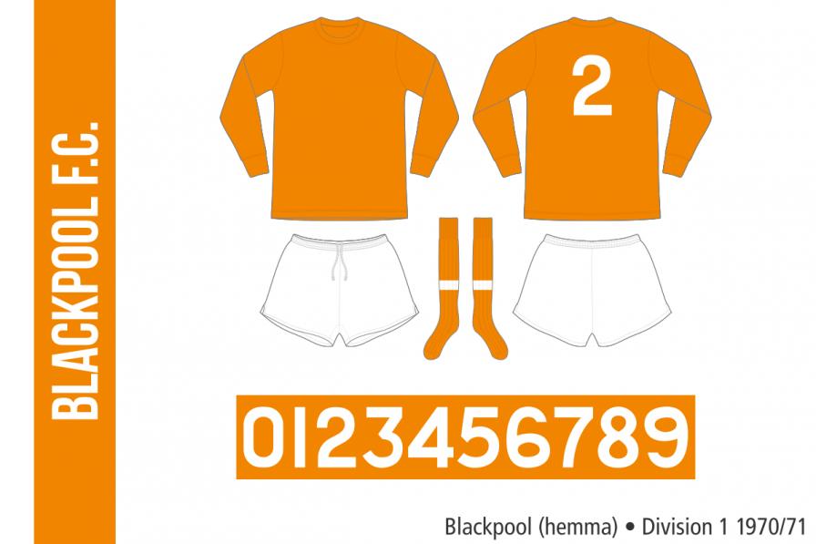 Blackpool 1970/71 (hemma)