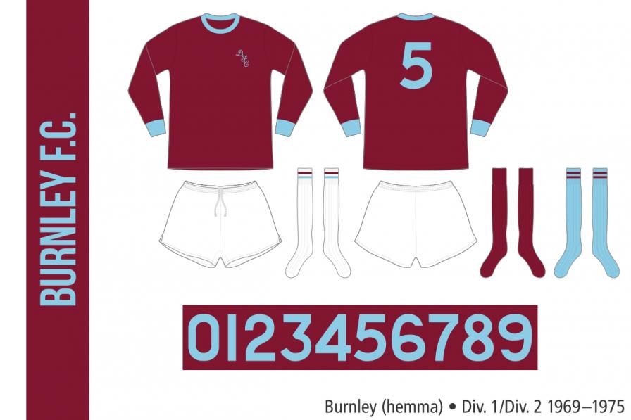 Burnley 1969–1975 (hemma)