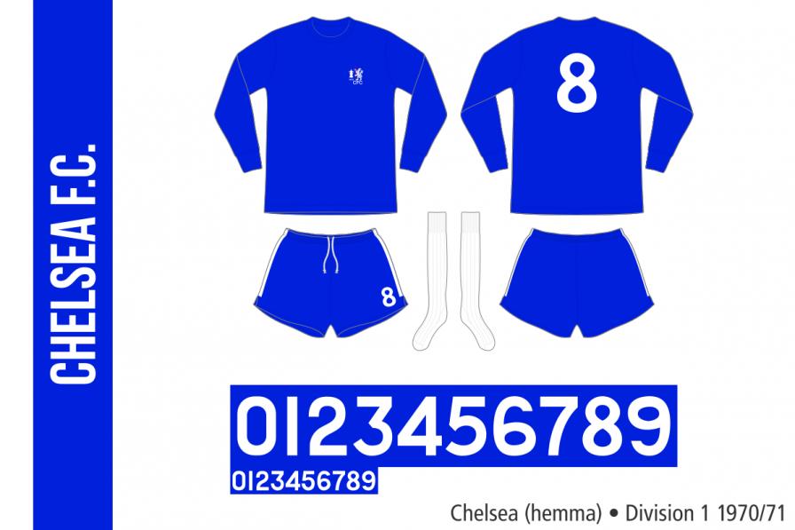 Chelsea 1970/71 (hemma)