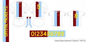 Crystal Palace 1971/72 (hemma)