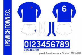 Iipswich Town 1969–1972 (hemma)