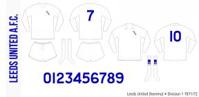 Leeds United 1971/72 (hemma)